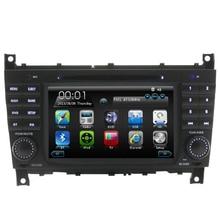 2 Din 7 дюймов dual Core радио Автомобиль dvd Для Mercedes/Benz C Class W203 2004-2007 C200 C230 C240 C320 C350 CLK W209 с gps rds