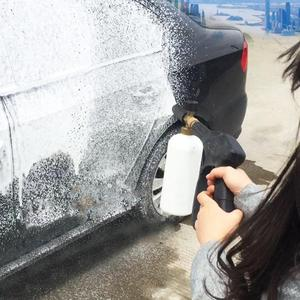 "Image 4 - Dragonpad 1/4"" Adjustable Car Wash Gun Snow Foam Lance High Pressure Car Washer Bottle Cannon Tools"