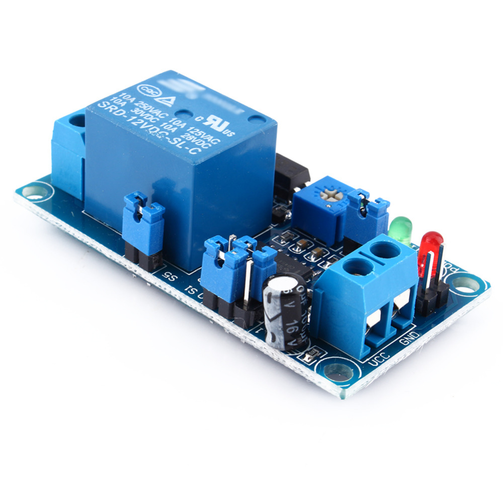 Dc 12v Delay Relay Switch Module Timer Normally Open Trigger Circuit In Relays From Home Improvement On