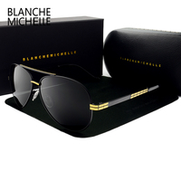 2017 New Sunglasses Men Luxury Brand Vintage Polarized Lenses Mens Sun Glasses Driving Fishing Uv400 High