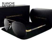 2020 de alta qualidade novo piloto óculos de sol polarizado dos homens marca luxo do vintage óculos de sol condução uv400 com caixa