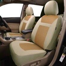2020 New Automobiles Universele  Car Seat Cover Auto Styling Fit Interieur Accessoires Zetel Decoratie beige grey black