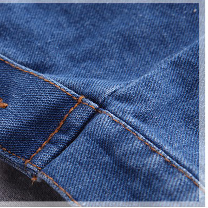 35096ca2a 2016 New Baby Boys Denim Jacket Classic Zipper Hooded Outerwear Coat ...