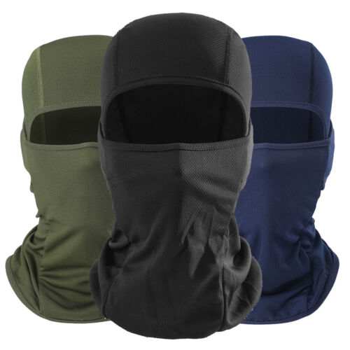 Cool Soft Bike Motorcycle Full Face Mask Lycra Balaclava Ski Neck Protection Winter Windproof