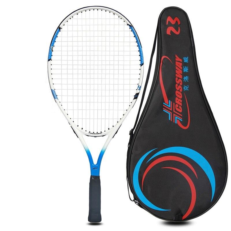 Junior теннисные ракетки и алюминиевого сплава теннисные ракетки для детей (От 7 до 9 лет) с мешком