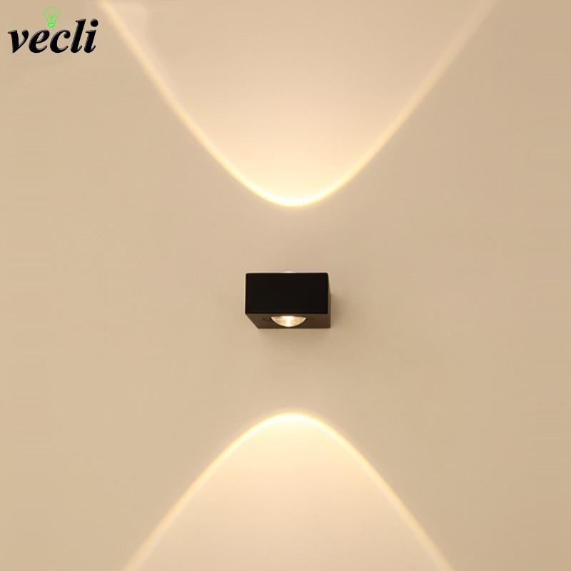 3W 6w Unutarnji vodio zidna svjetiljka visokog stupnja dnevni boravak uz krevet TV pozadina svjetiljka vrt ulazna vrata prolaz svjetlo grudnjak