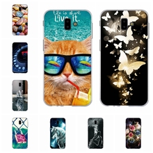 For Samsung Galaxy J6 Plus J610FN J610G Case Soft Silicone Prime Cover Sky Pattern Bag