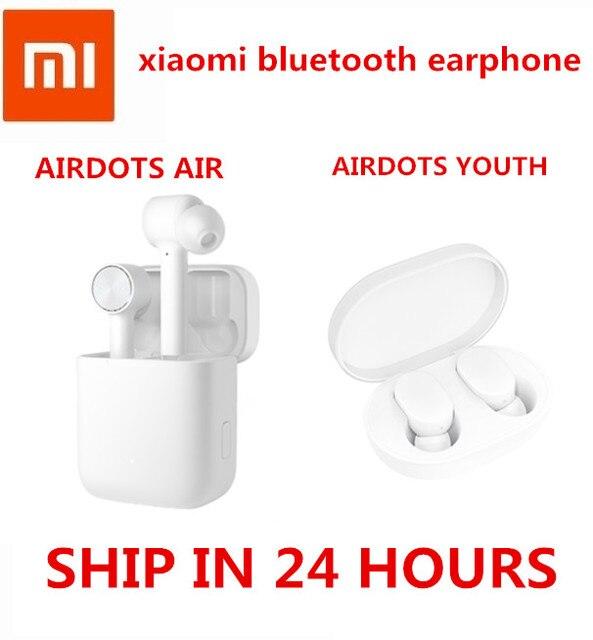 Original xiaomi Airdots pro aire TWS auriculares Bluetooth inalámbrica estéreo deporte auricular ANC interruptor ENC de pausa de Control