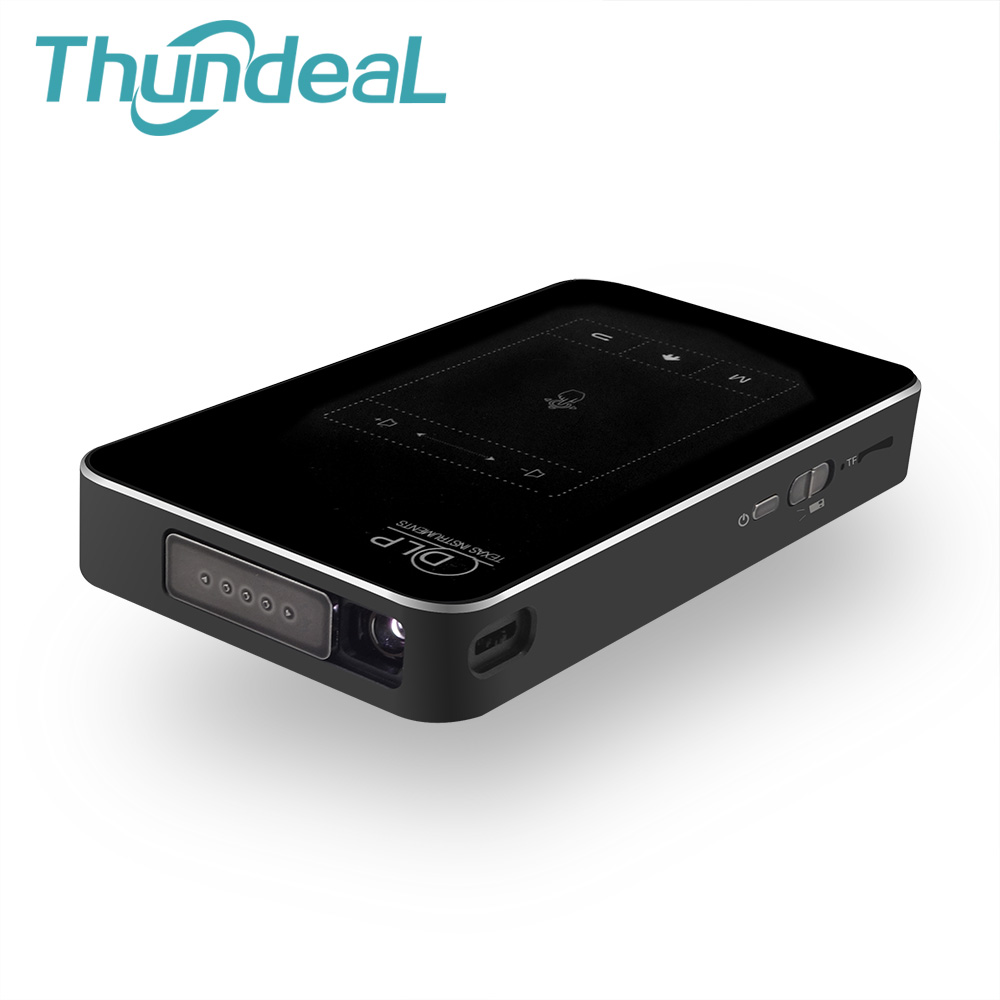 ThundeaL T18 DLP Beamer Mini Projector Android 4.4 Handheld WIFI 1G RAM 8G 32G ROM Projector Touch Pad Battery 5000mAh Bluetooth велосипед stels navigator 700 2016
