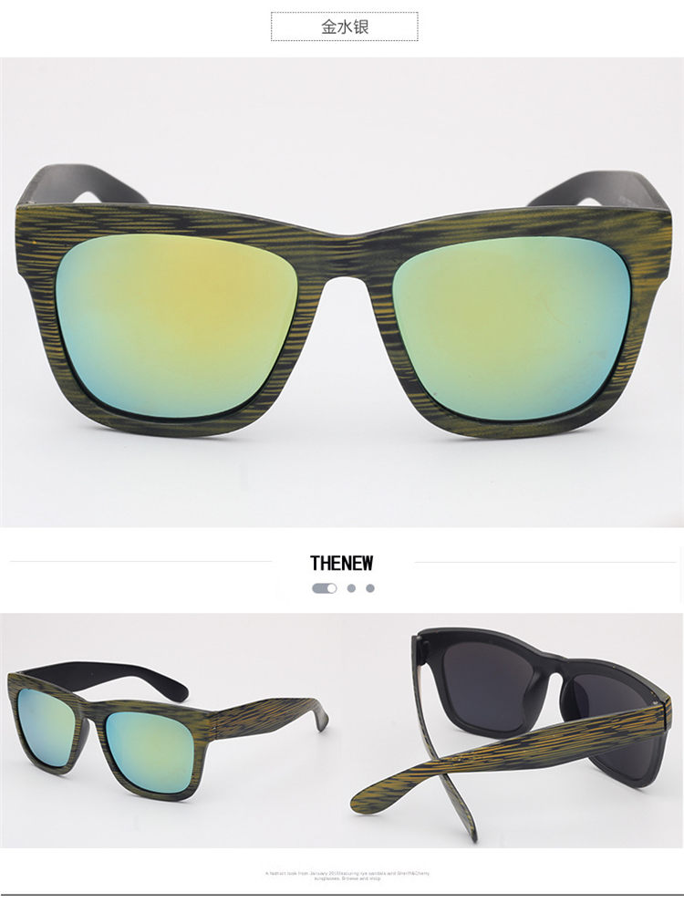 cb818d3d5d Gradiente cuadrado Gafas de sol mujeres grano Gafas de sol Joker ...