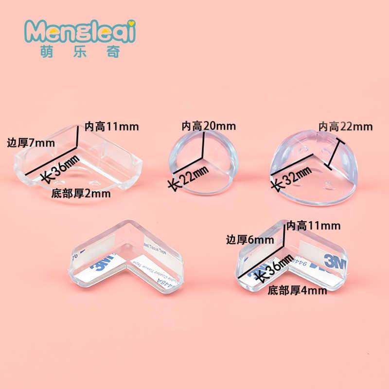 1 Uds. Protector de silicona para bebés, cubierta de protección de borde de esquina para niños, protectores de esquina para niños
