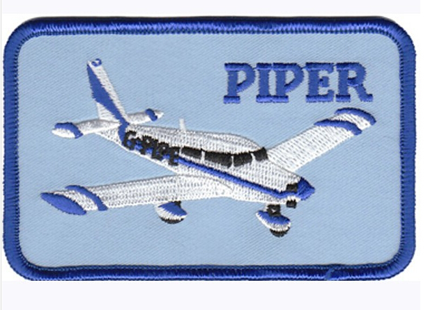 Iron On Badge Piper Patch Embroidery Patch Heat Cut Iron-on Backing 3 Inch Customized Design Is Welcome For Us