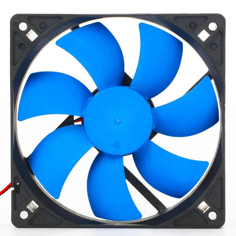En-Labs PC Computer 120mm Öl Lager 16dBA Ultra Silent Fall Fan Kühlkörper Kühler, 12 cm Fan Power durch Molex IDE 4pin