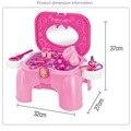 Novos Brinquedos Do Bebê Compo o Jogo define Clássico Conjunto de Brinquedos Móveis Dresser Meninas Playsets Crianças Presente Das Crianças