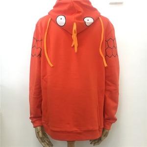 Image 3 - חדש אנימה כיס מפלצת Magikarp הסווטשרט סתיו/חורף Creative אופנה פנאי כתום יוניסקס כותנה מעיל משלוח חינם