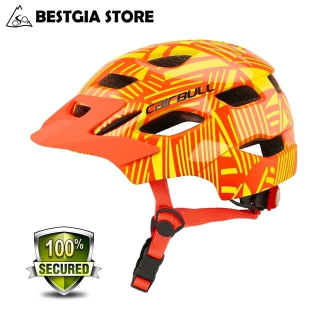 Cairbull新ファッショナブルな子供サイクリングヘルメット子供のスポーツ安全自転車ヘルメットスクーターバランスバイクヘルメットとテールライト