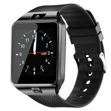 MOCRUX DZ09 Bluetooth smart watch inteligentny zegarek telefonu z systemem Android otrzymać telefon zwrotny od Relogio 2G GSM karty SIM TF Sport krokomierz kamery do telefonu z systemem IOS tanie tanio Rejestrator snu kalkulatory Chronograph Instrukcja 24 godz Wiadomości z przypomnieniami Interaktywna muzyka KALENDARZ