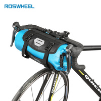 ROSWHEEL ATTACK Bicycle Front Tube Bag Bike Handlebar Bag Pack Cycling Storage Front Frame Pannier Accessories Bike Baskets