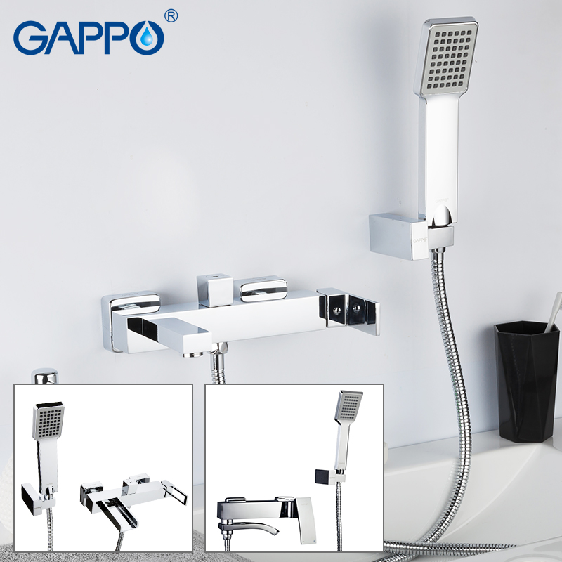 GAPPO Bathtub Faucets brass tub faucet waterfall faucet bath tub tap deck mounted robinet baignoire
