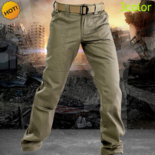 Top Quality Oudoor Waterproof City Daily Commuter Bike Tactical Cargo Pants Men Executive Soldiers Military Slim