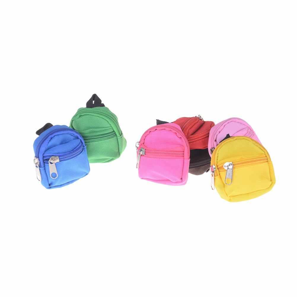 1 pçs mini bonecas mochila para boneca para bjd 1/6 blyth boneca saco acessórios melhores presentes