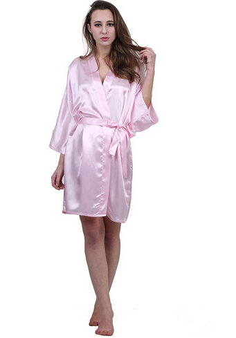 White summer dressing gown