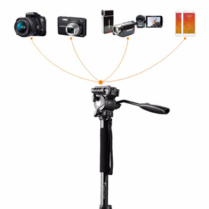 Image 4 - Tripod Weifeng WF 3958M WF 3958M kamera tripodlar Monopod SLR fotoğraf makinesi taşınabilir seyahat tripodlar destek ayak tripodlar