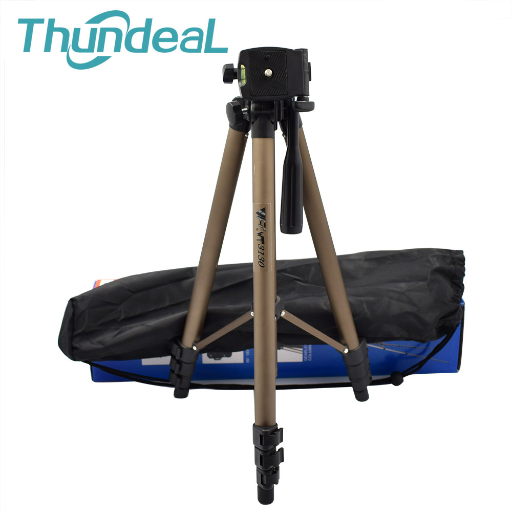 Thundeal WT3130 LED DLP Projector Tripod 6mm SLR Camera DV Hanger Ceiling Mount Projector Bracket 360 Degree 50inch Holder Stand