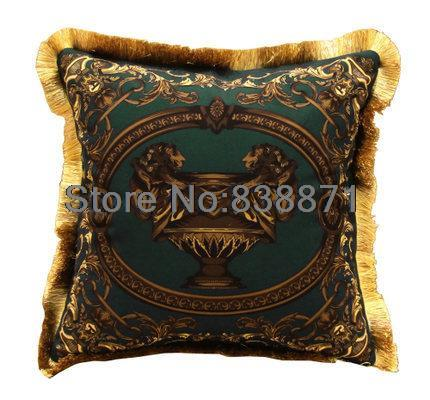 European Throw Pillows Cover Luxury Cushions Gold Decorative Large Cushion Wedding Velvet Case For Sofa In From Home