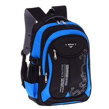 ddcb85e6d5ab 2018 горячие новые детские школьные сумки для подростков мальчиков девочек  большой емкости школьный рюкзак непромокаемый ранец