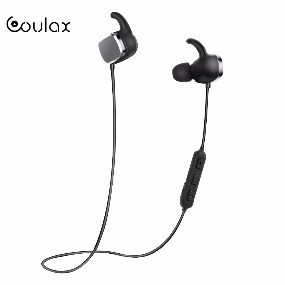 COULAX Wireless Headphones for mobile phone V4.1 Bluetooth Headset for iPhone Android Stereo Sport Earphone Headphone with Mic remax rb s6 wireless bluetooth earphone headphones with microphone sport stereo bluetooth headset for iphone android phone