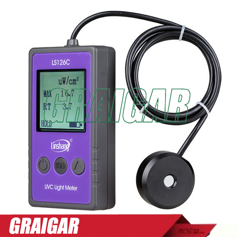 Light Measuring Instruments : Ls c uv light meter measure the uvc ultraviolet