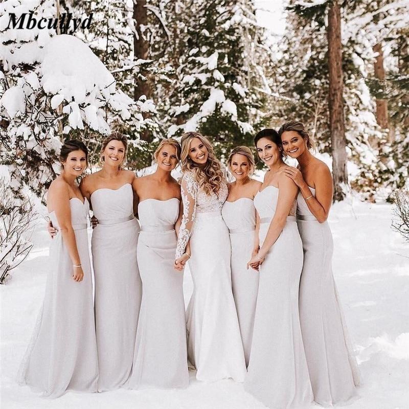Mbcullyd Mermaid   Bridesmaid     Dresses   2019 Sweetheart Backless Formal   Dress   for Wedding Party Cheap vestidos de fiesta de noche