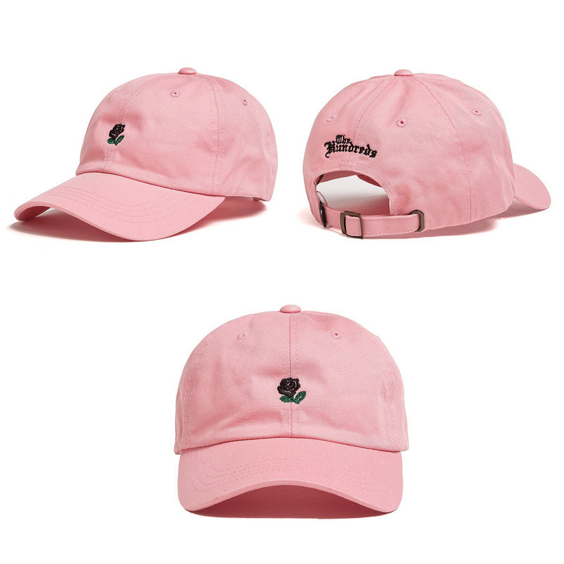 Russian-The-Hundreds-rose-cap-adjustable-hip-hop-snapback-baseball-cap-men-women-hat-yeezus-fitted (1)
