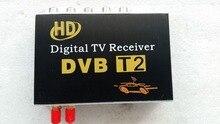 Hot selling car trainborn dvb t dvb t2 car digital hd tv set top box receiver