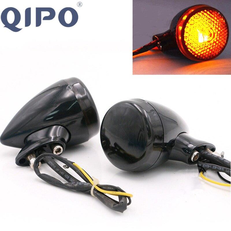 QIPO Rear Motorcycle LED Indicatori di direzione per Harley / - Accessori e parti per motocicli