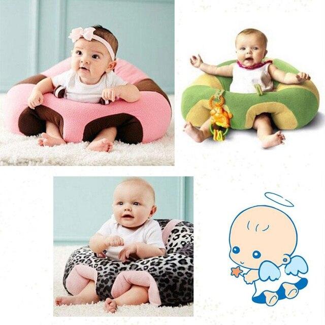 Baby Zitten Stoel.Baby Zachte Leren Zitten Stoel Kussen Training Opblaasbare Seat