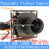 2MP 1920 1080P AHD CCTV Mini Camera Module 1 2 7 V30 G2023 2000TVL 1 8mm