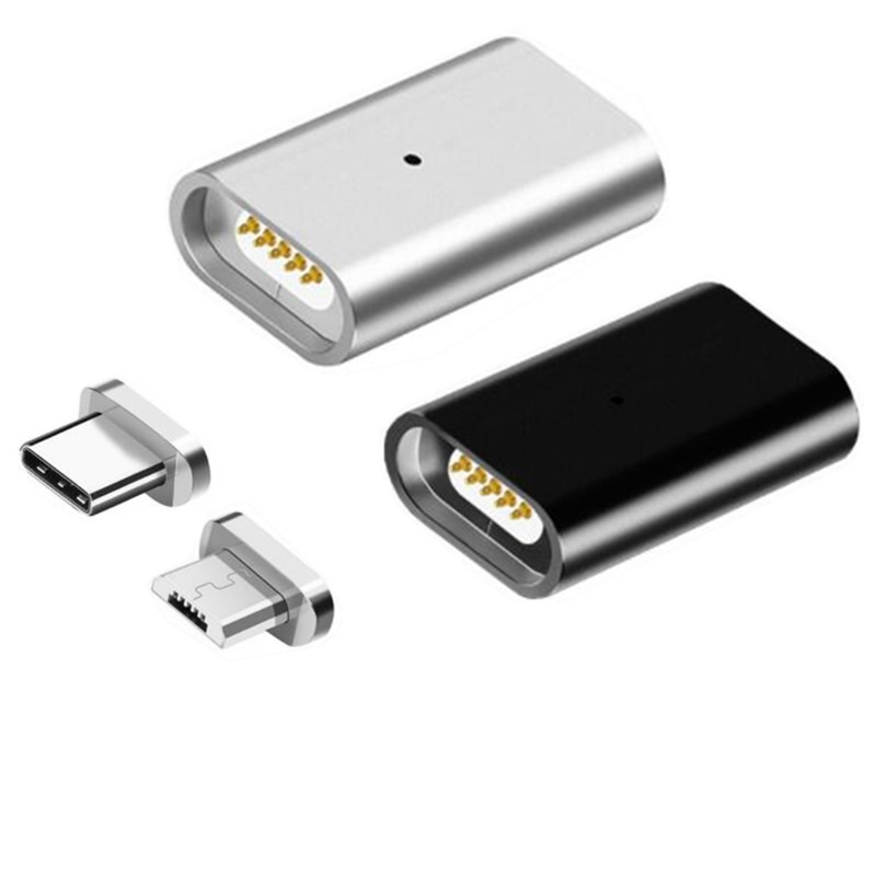Magnetic Magnet Adapter Mirco USB Connector For Iphone