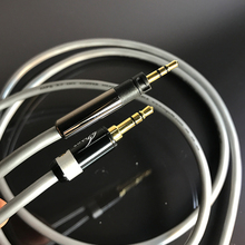HiFi MPS X-7 HiFi 5N OCC+24K Gold Plated Plug 3.5mm-2.5 For Momentum series Headphones Audio cable