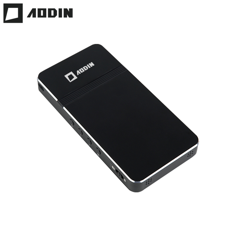 AODIN D16 pocket portable Mini projector None Android OS Linux Micro LED DLP Projector with Battery HDMI Input USB 2.0 HD video