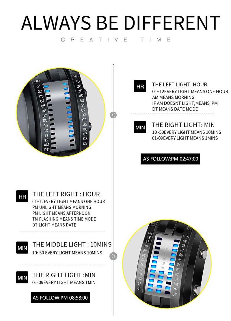 SKMEI Watch Men 2019 Top Creative Men\`s Waterproof Digital Watches Display Lover\`s Male watches relogio masculino (1)