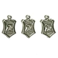 New 20Pcs Retro Style Zinc Alloy Badge, 16 * 11 Pendant Accessories Jewelry DIY Handmade
