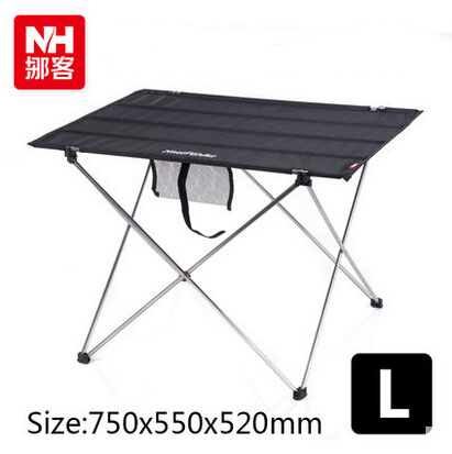 ФОТО 1 pc  Large  Portable Aluminium Alloy Strong Folding Table  Outdoor Camping Barbecue Picnic Table with Carry Bag Free Shipping