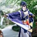 Mikazuki Munechika Cosplay Touken Ranbu Online Blue Samurai Uwowo Costume