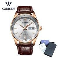 Hot Sale Cadisen Mens Watches Top Luxury Sapphire Glass 50M waterproof Automatic Mechanical Watch Men Business Role Style Watch Mechanical Watches