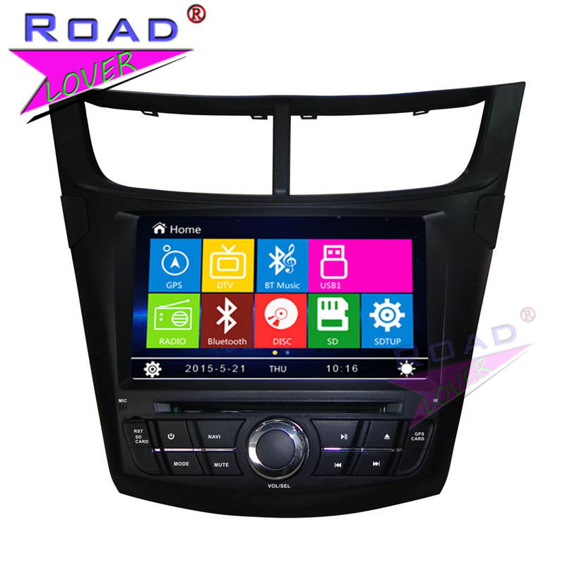 TOPNAVI Wince 6.0 2Din 8 Car Media Center DVD Player Radio For Chevrolet Aveo 2015 Stereo GPS Navi TFT Touch MP3 Video BT SD