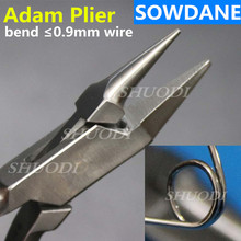 New Adam Wire Bending Wire Forming Pliers 13CM, Dental Orthodontic Pliers Lab CE  Instrument For Max.0.9mm Wire high quality 2017 new arrival filament cutter orthodontic ligature wire cutting pliers pliers orthodontic materials pliers