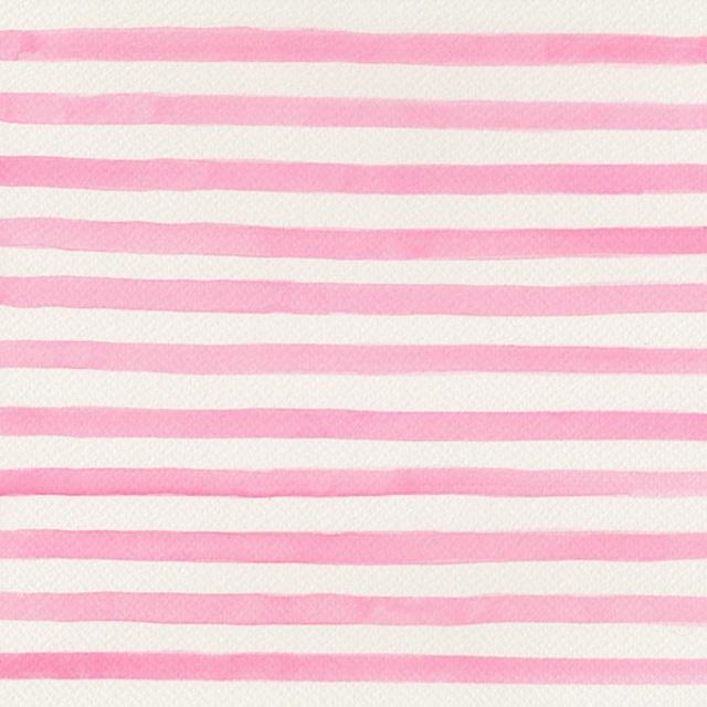 HUAYI Pink and white stripes Photography Art Fabric ...