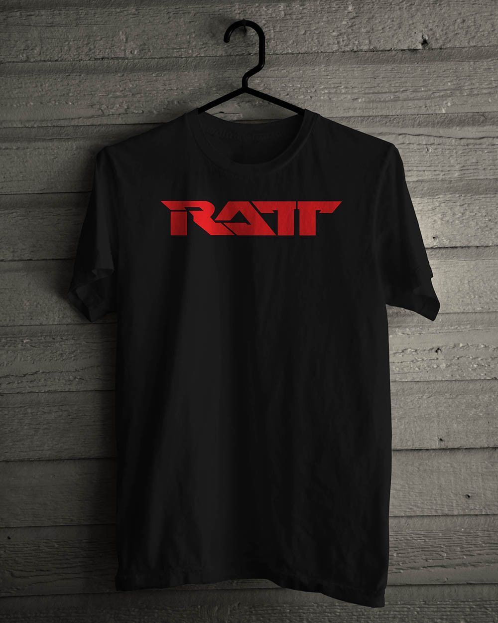 <font><b>Ratt</b></font> Heavy Metal Music Legend Black <font><b>T</b></font>-<font><b>Shirt</b></font> New Fashion <font><b>Mens</b></font> Short Sleeve <font><b>T</b></font> <font><b>Shirt</b></font> Cotton <font><b>T</b></font> <font><b>Shirts</b></font> Hot Cheap <font><b>Men'S</b></font> image